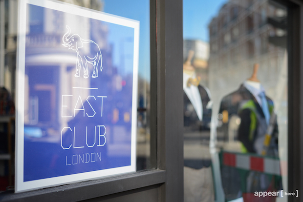 East Club's new pop-up in South Kensington