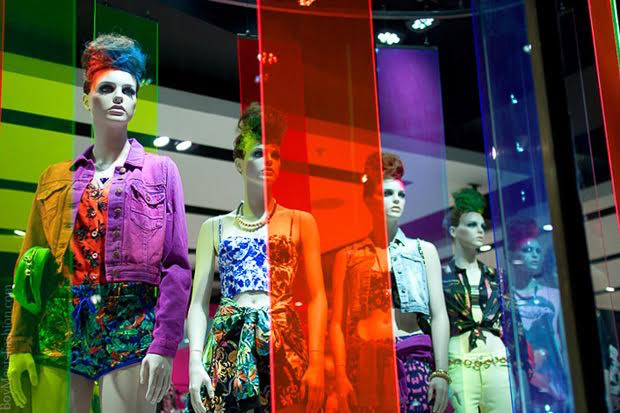 Topshop Windows