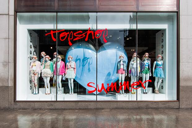 Topshop Window Dressing