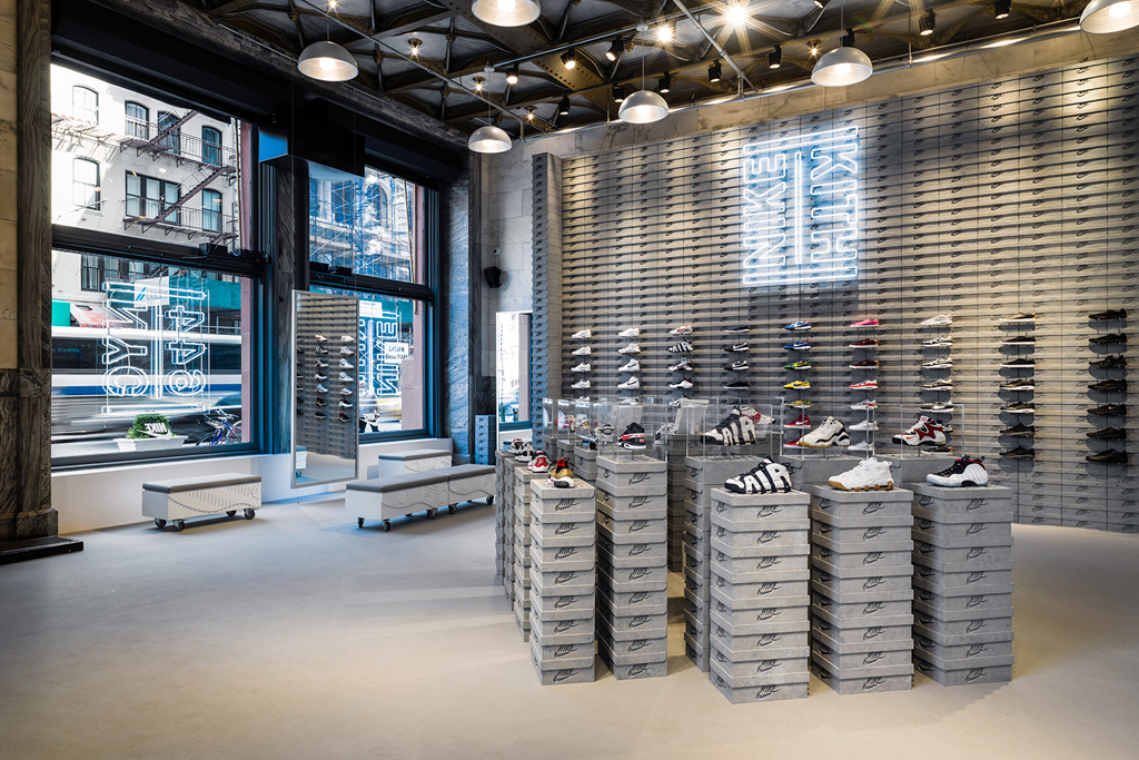 Nike, Kith, pop-up store, Soho