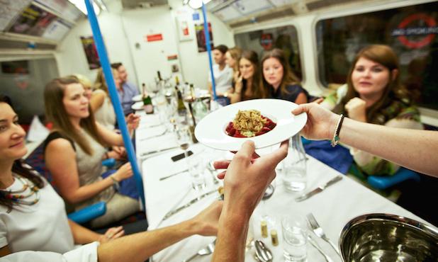 Un supper club... dans le métro