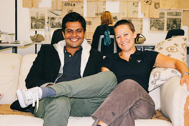 Liv et Sid, les fondateurs du Grub Club