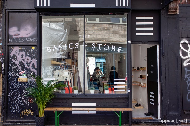 The Basics Store Redchurch Street