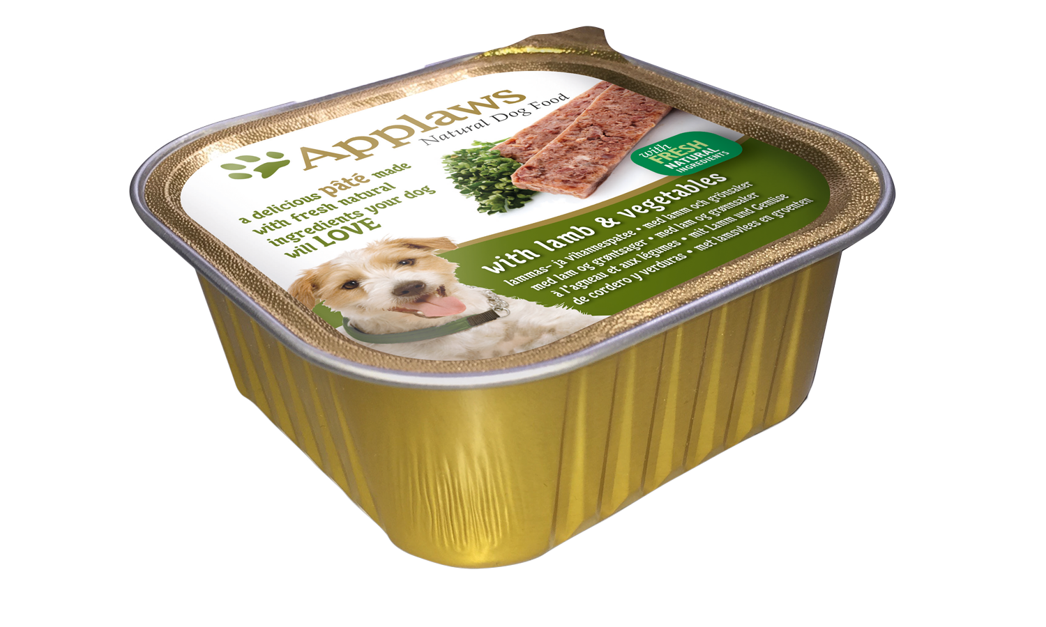Dog Pâté With Fresh Natural Ingredients