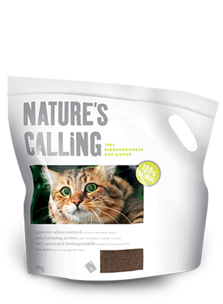 Natures' Calling - 100% Natural Cat Litter
