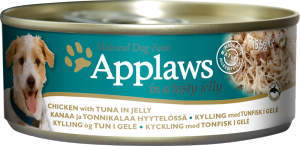 Dog Tins In Natural Jelly