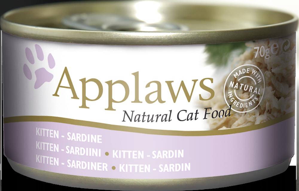 Kitten Tin Sardine Applaws