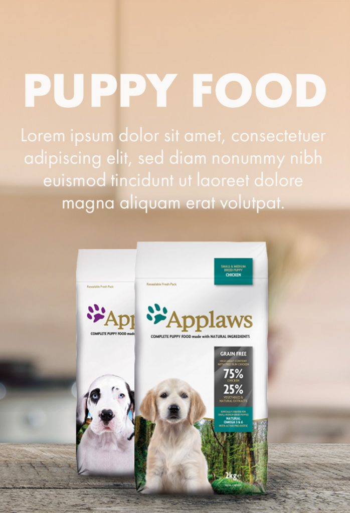 Puppy Foods For The Best Start In Life Categories Applaws