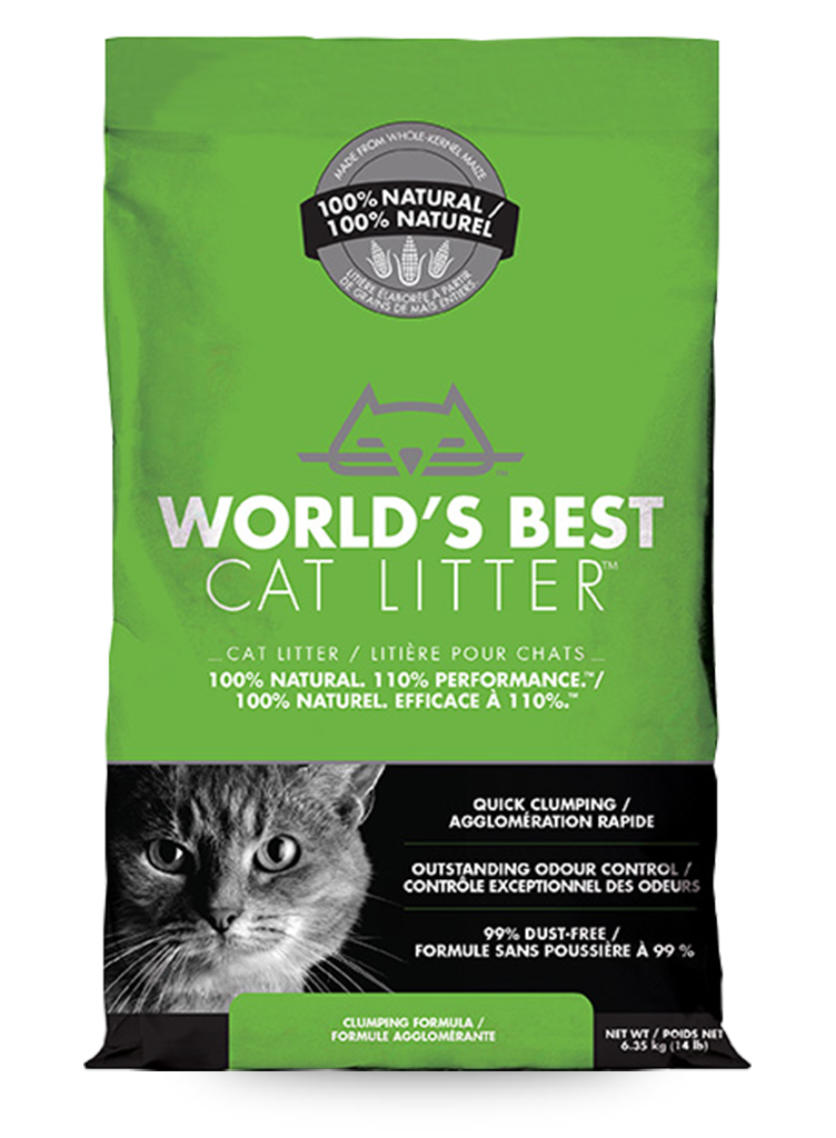 Worlds Best Natural Cat Litter
