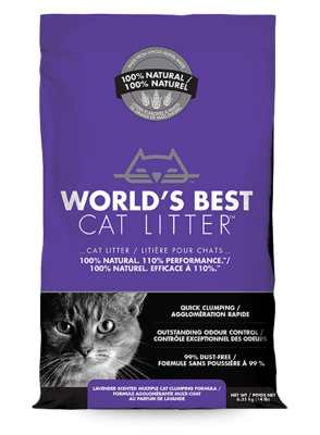 World's Best Cat Litter - Lavendar