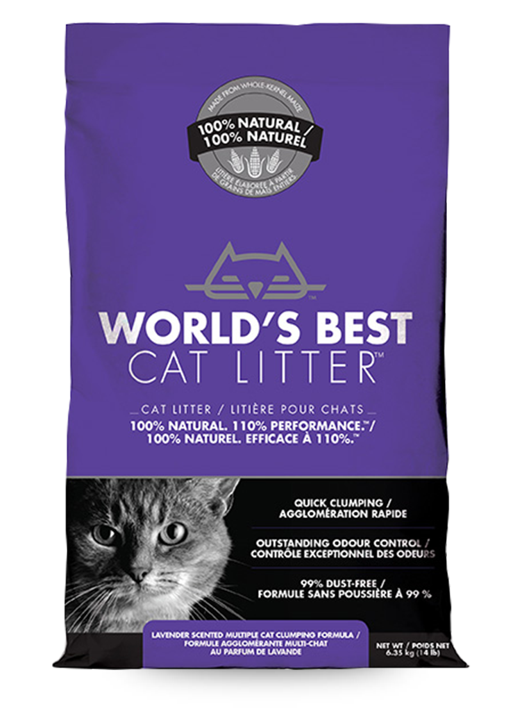 World S Best Cat Litter Lavendar Applaws