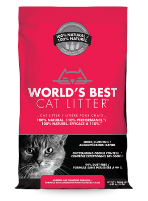 World's Best Cat Litter - Multiple cat clumping