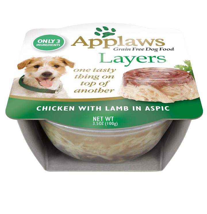 Dog Layers Chicken With Lamb In Aspic Applaws Us