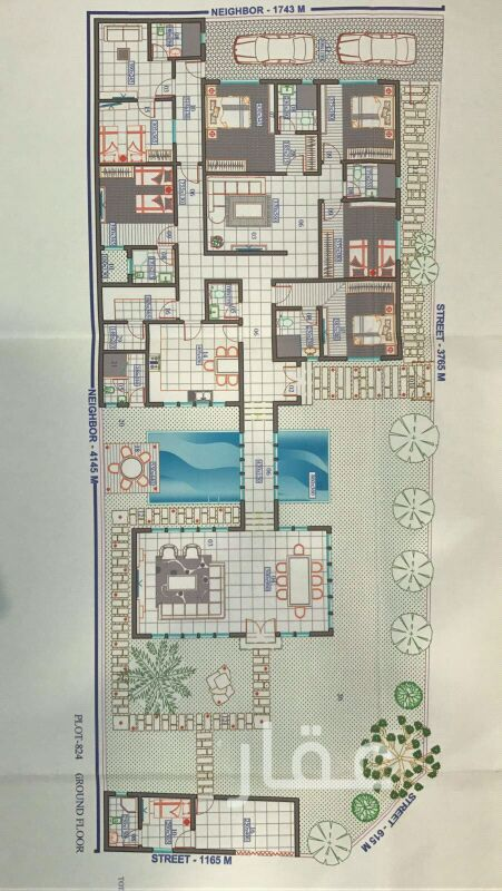 شاليه للبيع فى شارع عبدالله المبارك ، حي قبلة ، مدينة الكويت 4