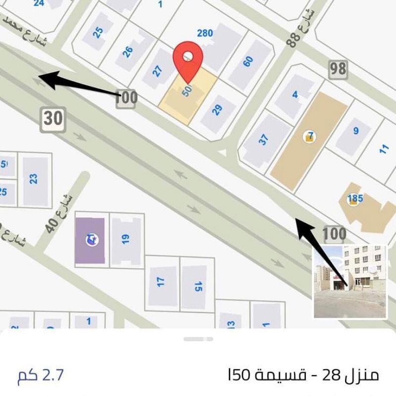شقة للبيع فى شارع بور سعيد ، حي بنيد القار 2