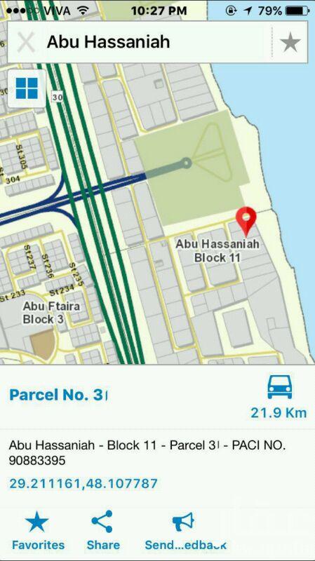 ارض للبيع فى شارع 15 ، مدينة الكويت 0
