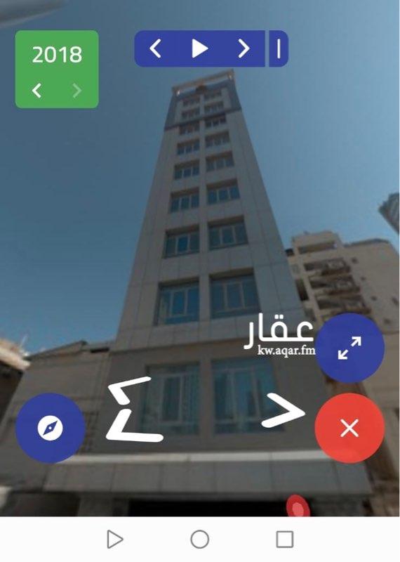 عمارة للبيع فى شارع عبدالله المبارك, قبلة, مدينة الكويت 0