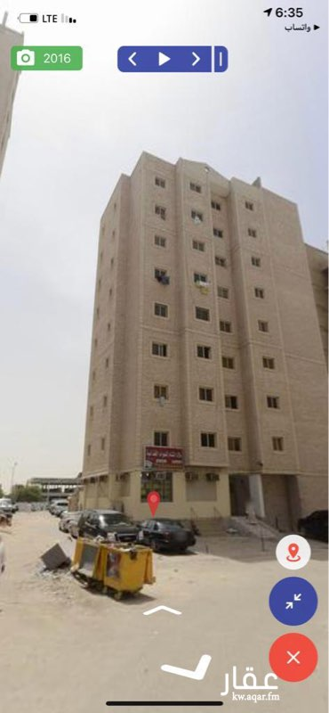عمارة للبيع فى شارع عبدالله المبارك, قبلة, مدينة الكويت 01