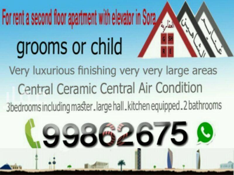 شقة للإيجار فى شارع 10 ، مدينة الكويت 01