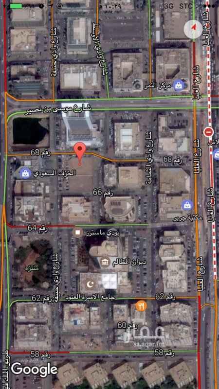 أرض للإيجار فى شارع موسى بن نصير, العليا, الرياض 0