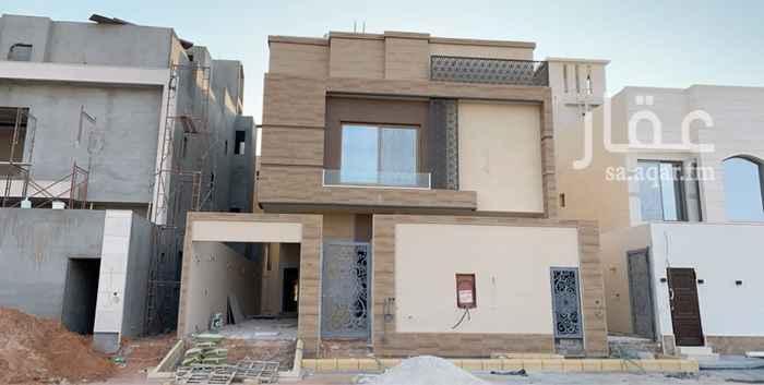 1820501 للبيع فله درج صاله وشقه مع مصعد شمال الرياض حي النرجس مخطط القمرا