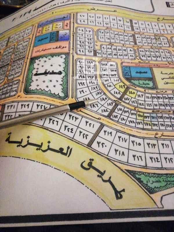 1356227 للبيع  ارض بمخطط ١٢٩  بعزيزية الخبر خلف الشرطه  مساحة ٨٥١ متر  شارع ٢٠ شمال  السعر ٦٠٠ الف  للاستفسار  ٠٥٠٠١١٣٠٣٠ أبو كمال
