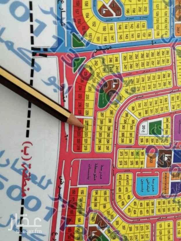 1602718 للبيع   ارض في مخطط ٢٠٩/٢   رقم ٢٢٥  حرف باء   مساحه ٨٧٥ متر   ٢٠ غرب   المطلوب ٢٩٠ الف حد      للإستفسار  ٠٥٠٠١١٣٠٣٠ ابو كمال
