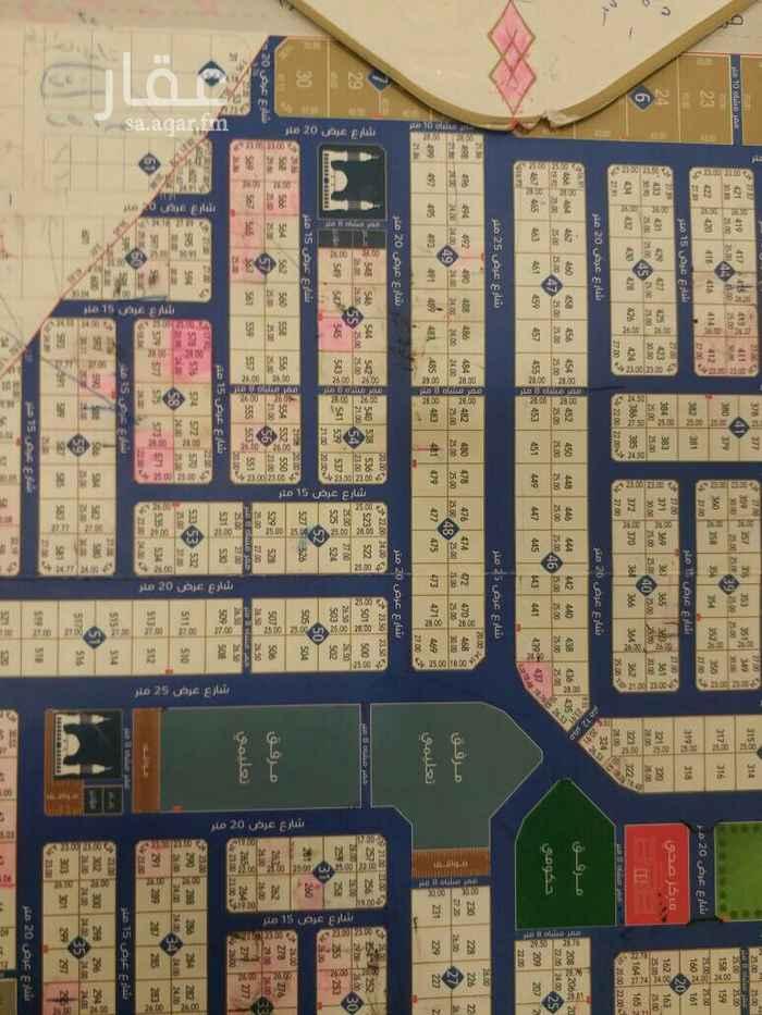 1553093 للبيع أرض في حي الدار مساحة 448م  جنوبي شارع 15 الاطول 16في 28 طبيعة الأرض كف الموقع غير دقيق