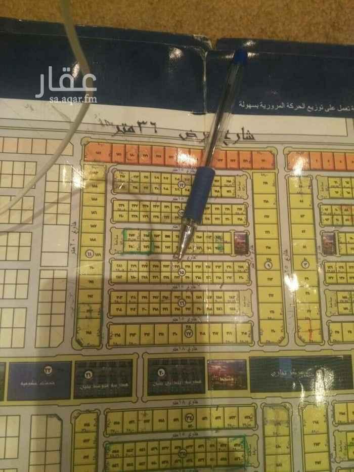 1577791 للبيع أرض في حي دانه الياسمين مساحه 400م  شارع 15 شمالي الاطول 20في20 سوم 2200