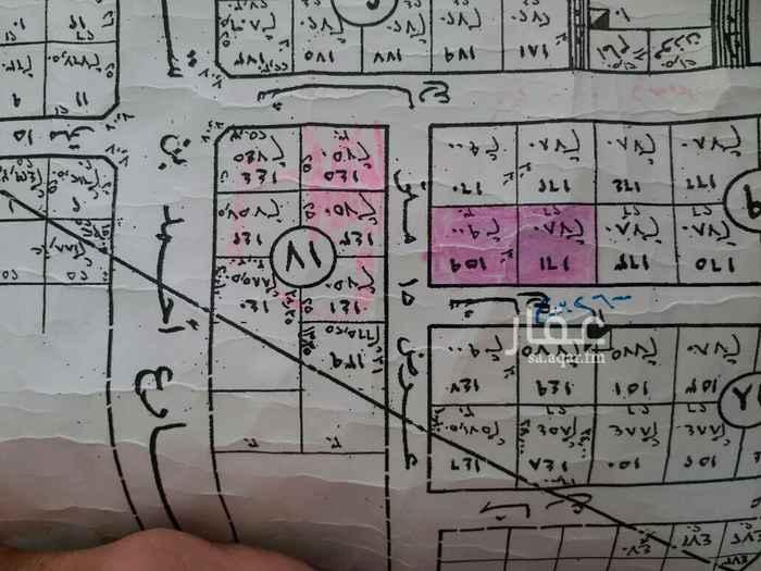 1639569 للبيع أرض في حي القيروان الشعلان مساحة 1680م زاوية شمالي شارع 15  شرقي شارع 15 الاطول56في30 البيع على 2600