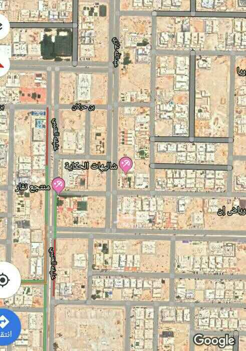 1639719 1050 م تجارية  حي القيروان زاوية شمالية غربية الشوارع 30 شمالي و 15 غربي الأطوال 35 بعمق 30  مباشر على السوم