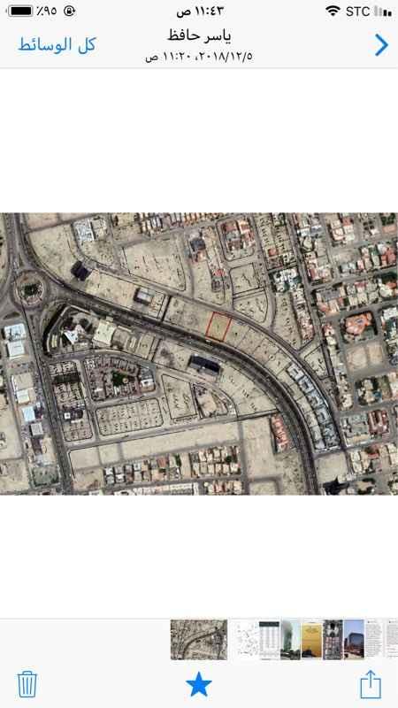 1255762 - ارض فضاء للاستثمار او الايجار  - تقع على شارع الامير تركي  ٤٥ م  - وعلى شارع ٢٠م  - ومساحتها ٢٤٠٠م٢ - مملوكة بصك شرعي . - الأرض مستوية التضاربس .