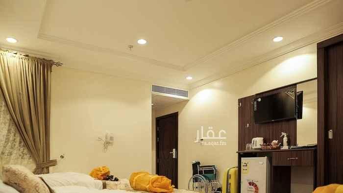 1727259 غرفه مفروشه مع الحمام  للايجار الشهري  نظام فندقي شامل الكهرباء والماء خروج حج للتواصل واتس 0500515409