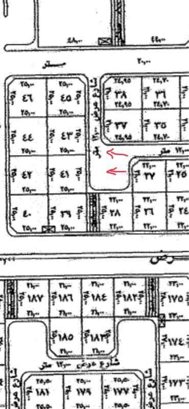 1650826 الراجحي   مساحة ٤١٦,٦٦  عرض ١٦،٦٦ عمق٢٥ شارع ١٢  حرف ب ٣٧٠ الف شامل الضريبه والسعي
