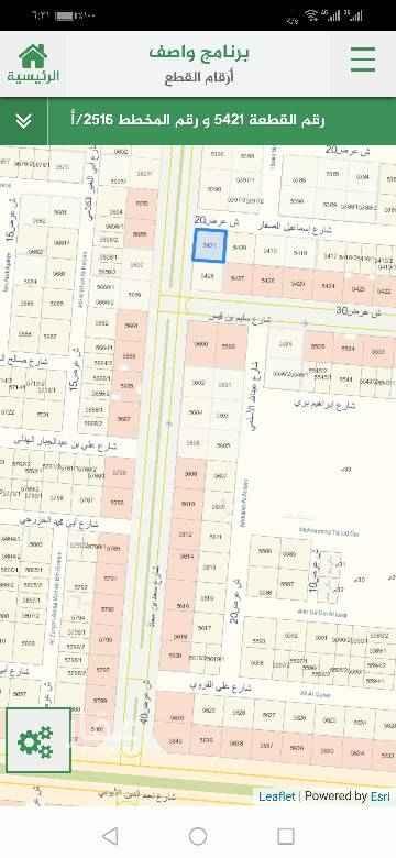 1395378 للإيجار أرض تجارية اطوالها 30*30 المساحة ٩٠٠م شارعين غربي ٤٠ و ٢٠ شمالي موقع ممتاز وقريبة للخدمات والمسجد  إمكانية البيع
