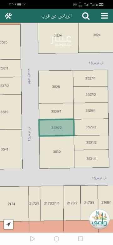1762409 للبيع أرض سكنية المساحة ٤٢٠م اطوالها ١٤*٣٠ طبيعتها ممتازة وقريبة للخدمات والمسجد واصل جميع الخدمات للحي