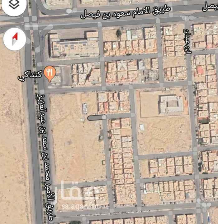 1544012 للبيع ارض تجارية في العقيق مدخل مباشرة من طريق الخير  على السوم  الاطوال ٤١ في ٢٥
