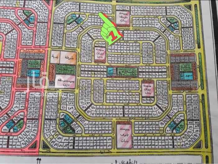 1624896 من المالك مباشرة   حي الكوثر ٢/١٢٢ - قطعة أرض رقم ٩٦/ أ