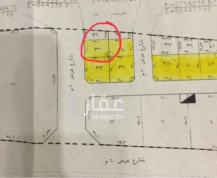 1762134 شمال الرياض حي النرجس مخطط القمرا 1  + الضريبه  موقع مميز في سنتر الخدمات والطرق الرئيسيه الماء والكهرباء متوفر