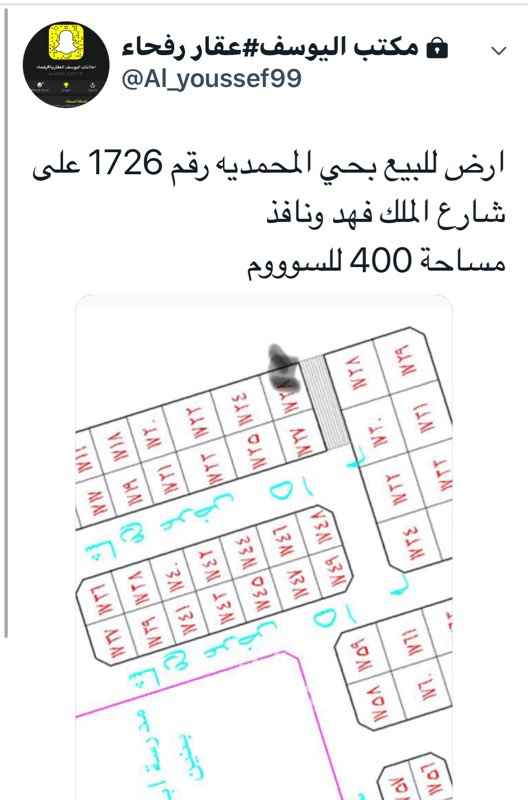1191930 مجموعة عروض مكتب اليوسف  بيوت واراضي للبيع رفحاء  واتس 0559559922