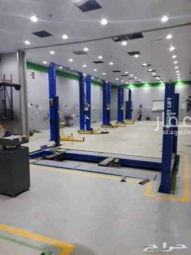 1607343 مركز كبير مكون من خمس فتحات كبيره مجهز باحدث المعدات لصيانة جميع السيارات  للايجار