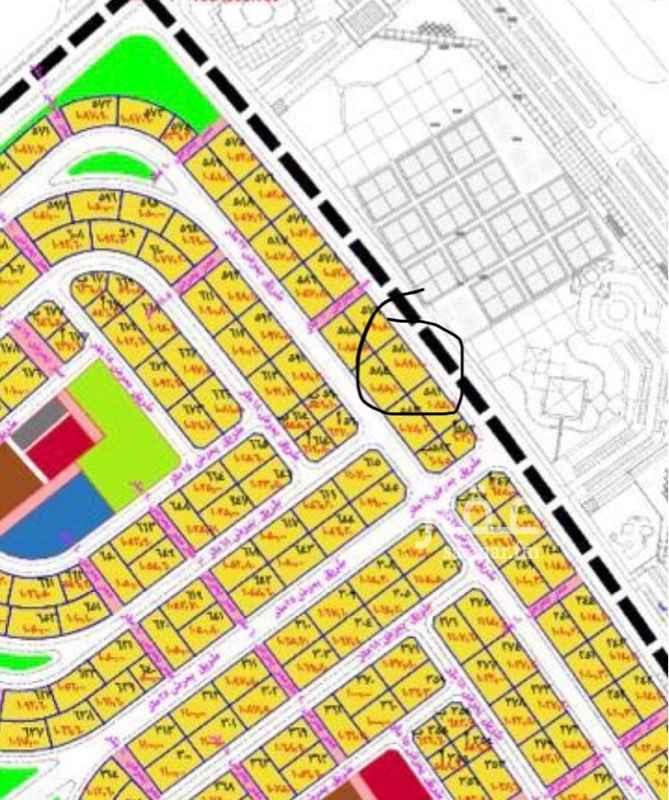 1548832 ارض بسعر طيب تجارية في مخطط ٥١٢ عشارع عرض ٣٦مطلوب٢٠٥ قيمه ودلالة