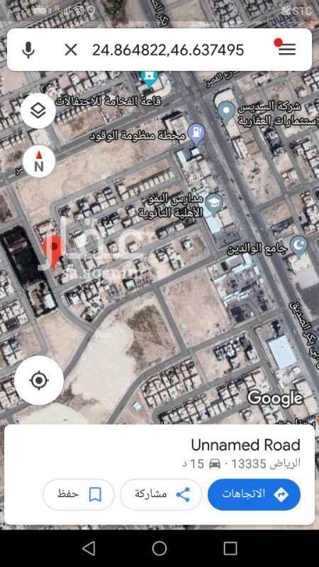 1279173 للبيع ارض سكنية حي ربوة الياسمين ٤٠٠م شارع ٢٥ غربي الاطوال ٢٠ في ٢٠ سوم ١٨٥٠