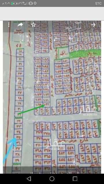 1659670 ارض للأجار او للبيع في مخطط ولي العهد 1 القطعه رقم ١٠٢٢ للمفاهمة مراسلتي واتساب