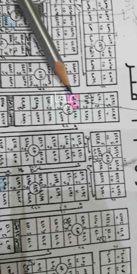 1489327 للبيع ارض سكنيه حي الياسمين مربع ٩ مساحه ٧٥٠م مجزاء قطعتين كل قطعه ٣٧٥م شارع ١٥ غربي عليها سوم ٢٣٠٠ريال بلك رقم ٨٤٧قطعه رقم٤٢٨٨