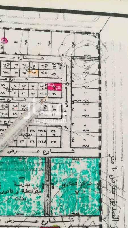 1242701 ربوة الياسمين  زاوية مساحة 572.75م  شارع 20 شرقي و15 شمالي  الاطوال 29 * 19.75م الحد 2100