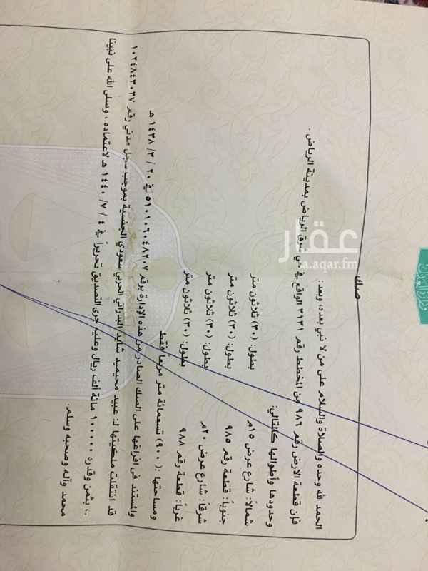 1631761 العنوان شرق الرياض  طريق رماح  مخطط٣١٣١ حديدتها قائمه  تفتح علا مرافق