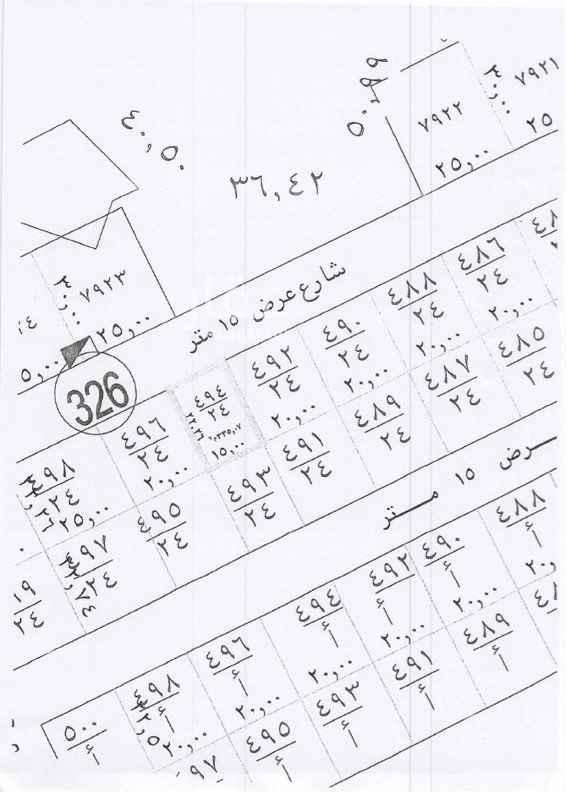1669841 ارض للبيع في المهدية  • مساحة الأرض في الصك: ٤٥٠م • مساحة الأرض في الطبيعة: ٣٣٥م  الاطوال موضحة في الصور المرفقة الحد ٣٣٥ الف غير شامل الضريبة الضريبة ١٦٧٥٠