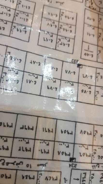 1754908 للبيع أرض سكنية حي النرجس شمال طريق الملك سلمان وشرق طريق عثمان الكيلو الخامس الشرقي مساحة ٤٥٠م شارع ١٥ حنوبي