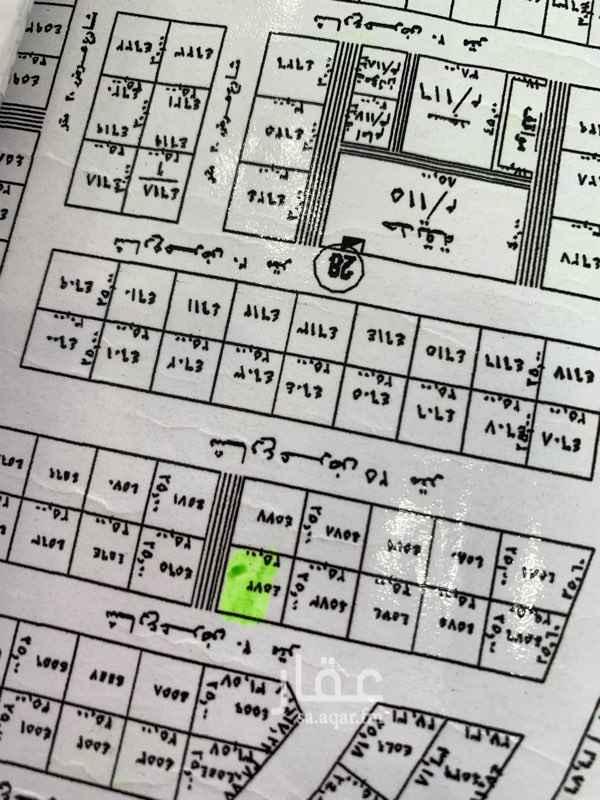 1601453 ارض في المهدية مساحة ٣١٢،٥متر على شارعين ٢٠ شمالي و ١٠ شرقي  المبلغ المذكور سوم